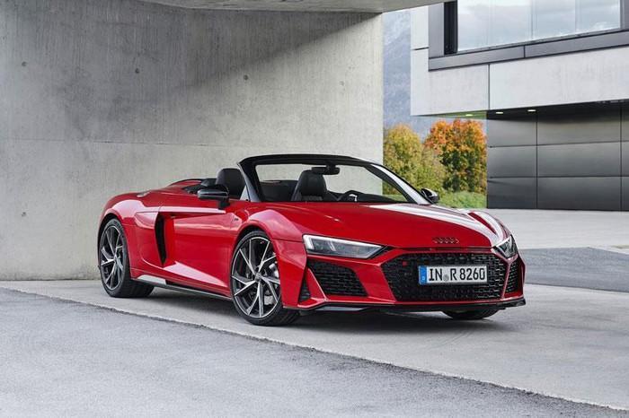 Audi R8 2021 RWD có sức mạnh thấp hơn so với phiên bản A