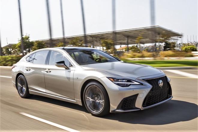 Lexus LS 2021 ra mắt khách hàng Việt với giá từ 7,28 tỷ đồng